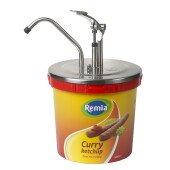 Remia, 10 liter dispenser, dispenser, curry