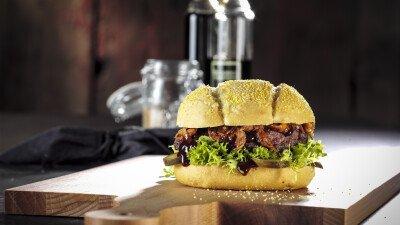 Pulled Pork, Hamburger, Saus, Barbecue saus, Remia Burger en Grill, Smokey BBQ